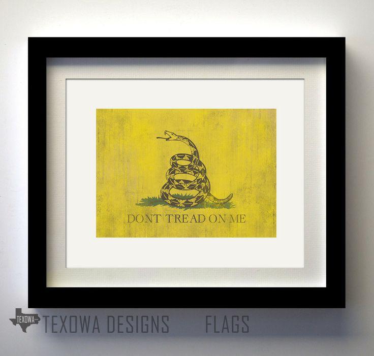 don t tread flag