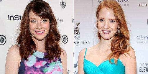 Bryce Dallas Howard and Jessica Chastain | ~ SAME ... Jessica Chastain Facebook
