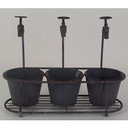 Faucet Bucket Planters