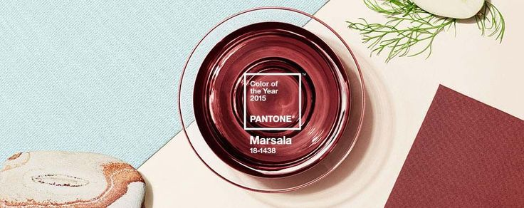 Introducing Marsala  Pantone Color of the Year 2015, a naturally robust and earthy wine red color from pantone.