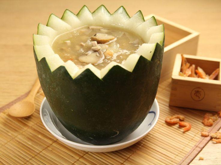 Double Boiled Winter Melon Soup