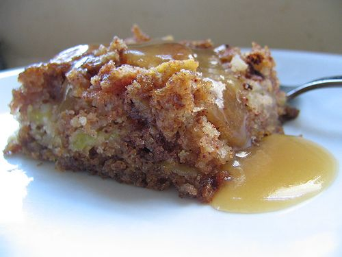 German Apple Cake with Go-Over | Cakes and Pies | Pinterest