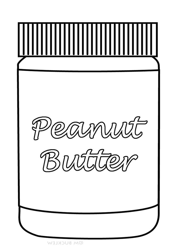 butter free coloring pages - photo#27
