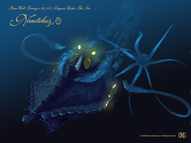 Giant Squid Astern, Sir! | David McCamant #nautilus