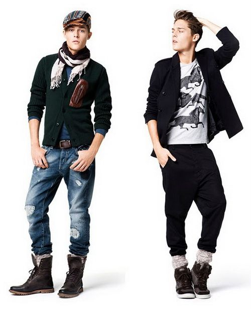 Clothing styles for men