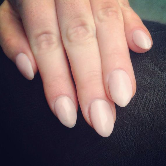 Matte Pink Stiletto Full False Nails