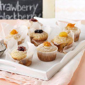 Jelly-Filled Doughnut Cupcakes | Recipe
