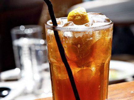 Long Island Iced Tea: 1/2 oz triple sec, 1/2 oz light rum, 1/2 oz gin ...