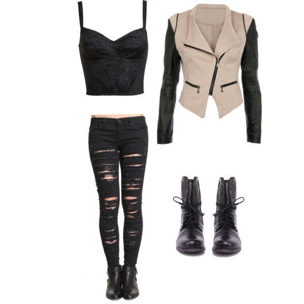 My edgy outfit creation | My styleeeeeee!!!! :p | Pinterest