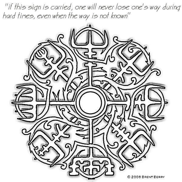 Norse Symbols Tattoos | Character creation | Pinterest