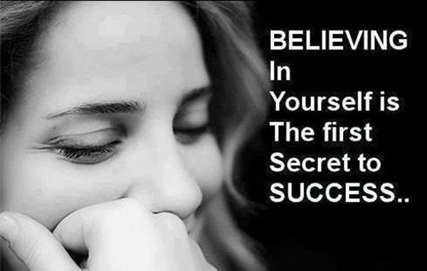 Believing In Yourself