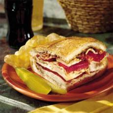 Turkey, Bacon, and Havarti Sandwich. Smoked turkey, havarti, bacon ...