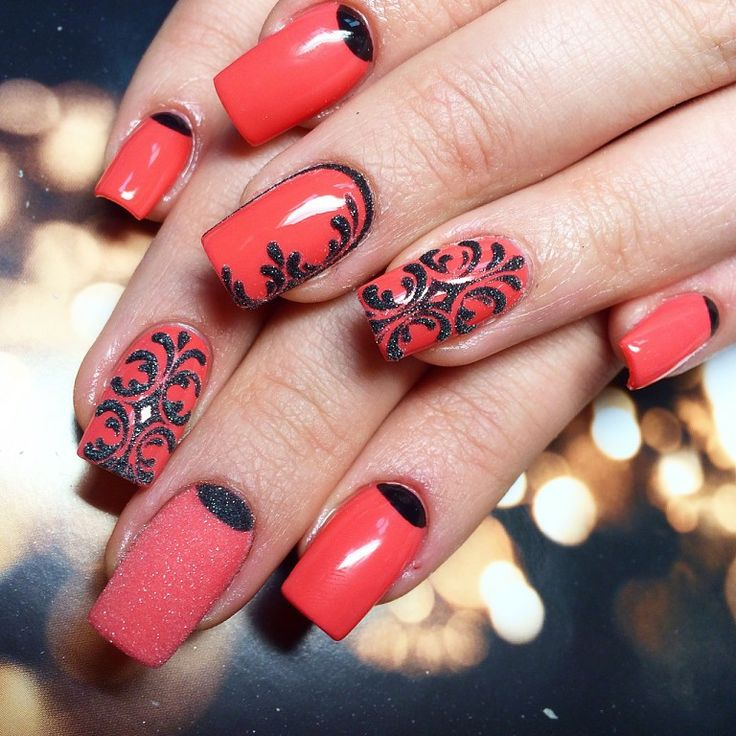 Осенний Маникюр На Короткие Ногти Фото Дизайн
