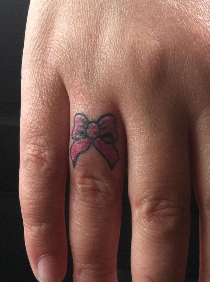 Finger TattoosBow Finger Tattoos