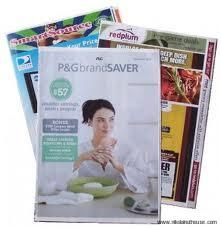 Coupon Insert Schedule 2014