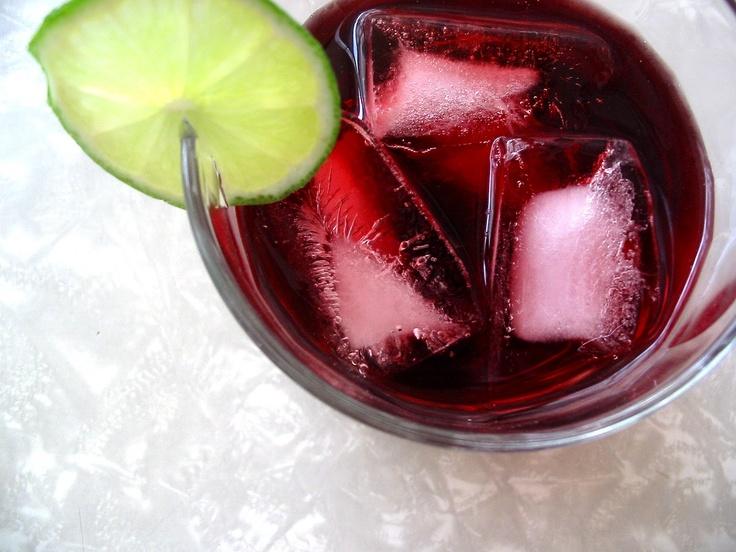 Jamaica (Hibiscus Flower) Drink recipe - this tastes better w/stevia ...