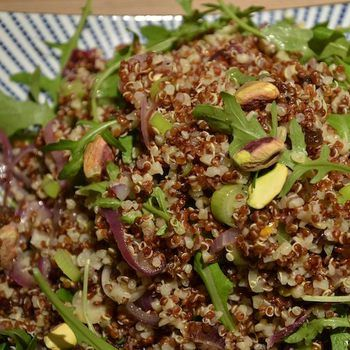 Ottolenghi Red Rice And Quinoa Recipe — Dishmaps