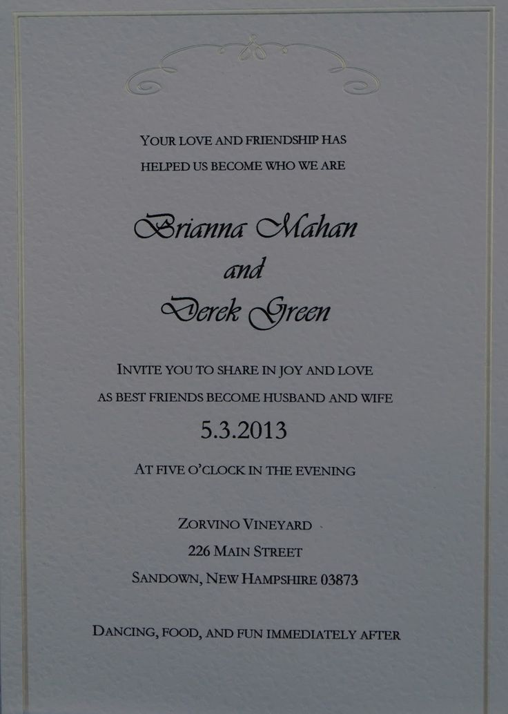 Wedding #invitation #wording. Alternative wording options.