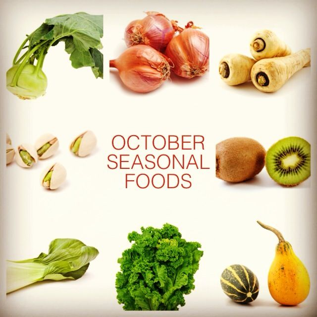 october seasonal foods what to eat pinterest