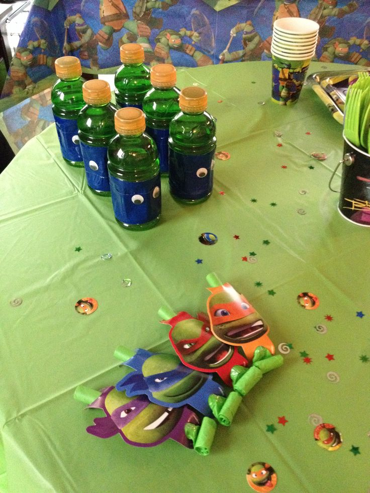Turtles decorations 28 images mutant turtles table Turtle decorations for home
