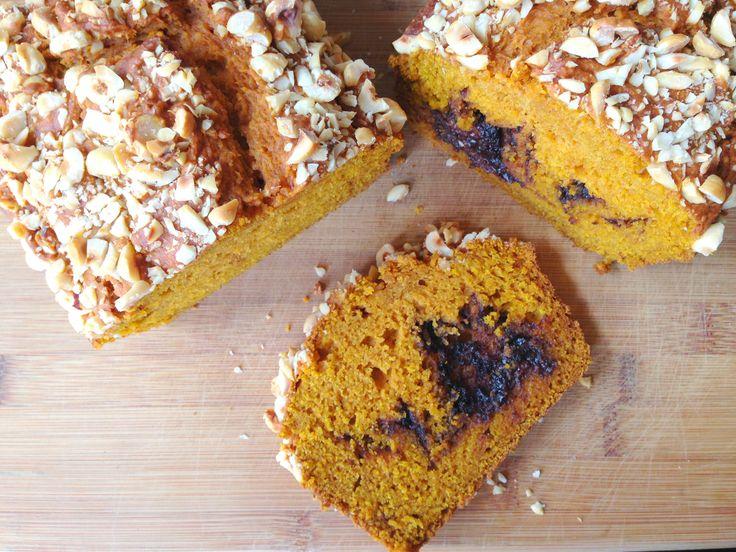 Nutella Pumpkin Bread | Breads | Pinterest