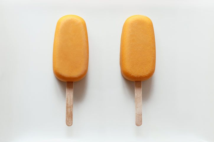 ... mango lassi homemade popsicles from a rich and sweet mango lassi