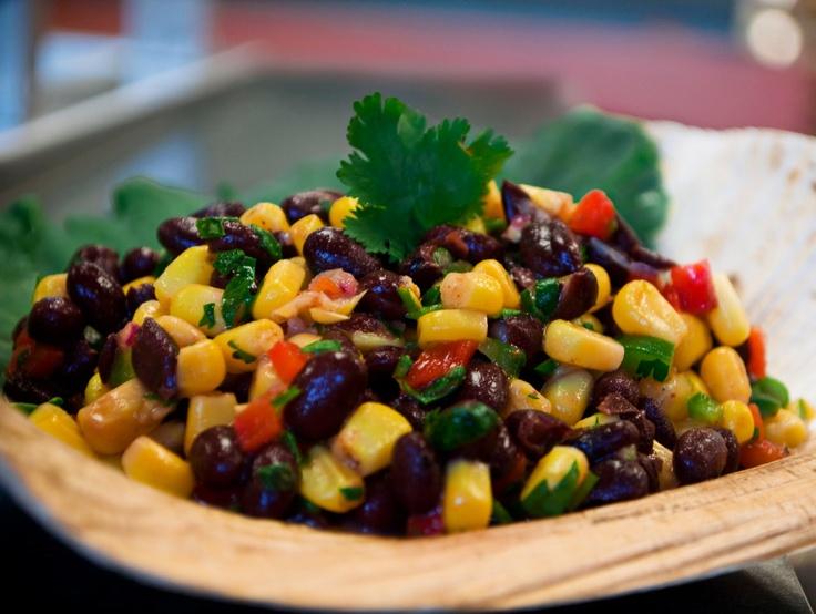 Southwestern Corn and Black Bean Salsa   Beans, Legumes & Lentils   P ...