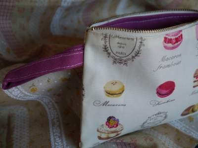 Adorable medium large cosmetic bag that is perfect for organizing all