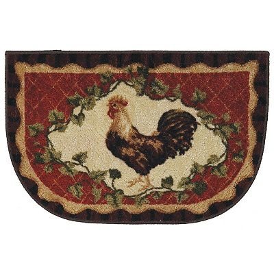 Mohawk Home Framed Rooster Kitchen Rug All Things Rooster Pintere