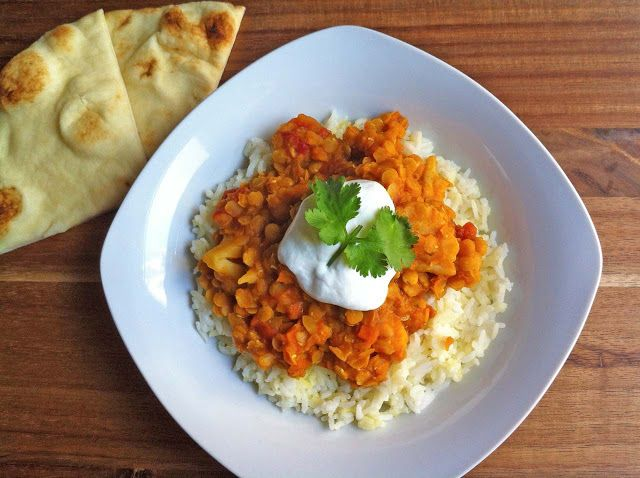 Ashley Marie's Kitchen: Red Lentil Curry