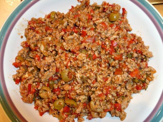 Picadillo!!! Check out Miss Kessler's website at: http://ponderinglife ...