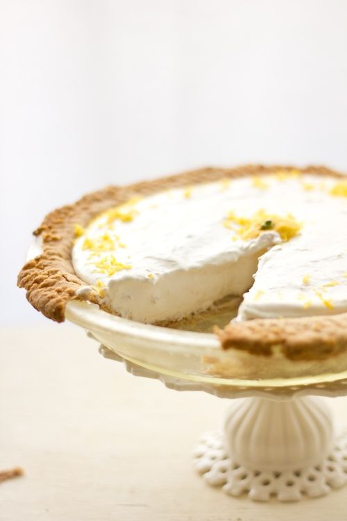 Lemon Ginger Cheesecake | Party Food | Pinterest