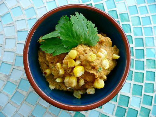 Chipotle Corn Hummus | Yummy | Pinterest