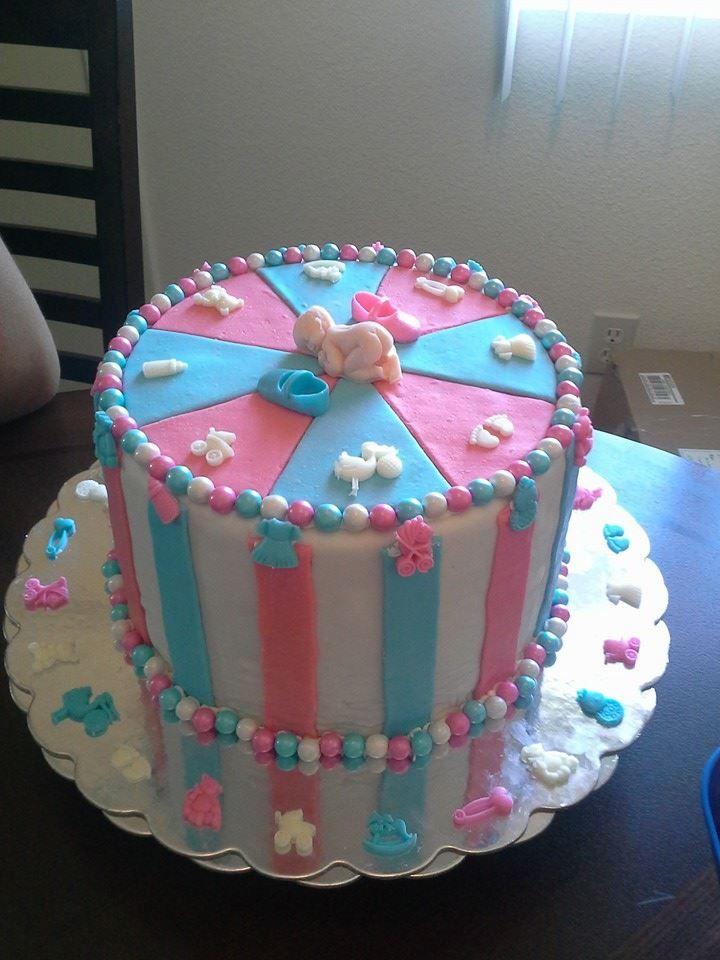 baby shower reveal cake baby shower cakes pinterest