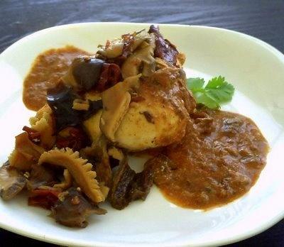 Recipe: Chicken In Chipotle-Wild Mushroom Sauce | Poor Girl Eats Well ...