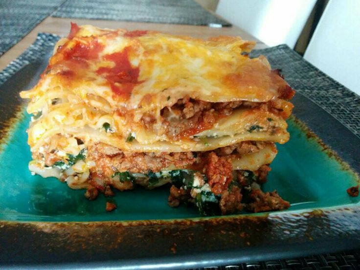 Three cheese lasagna | What's cooking in my kitchen? | Pinterest
