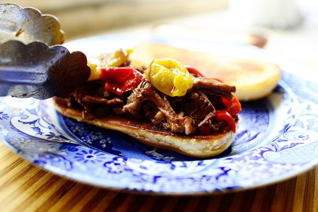 hot amp spicy italian drip beef via the pioneer woman looks like a ...