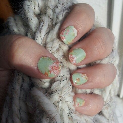 jamberry nail wraps vintage chic jamberry nails pinterest