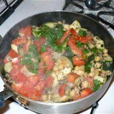 Garbanzo Stir-Fry | Recipes | Pinterest