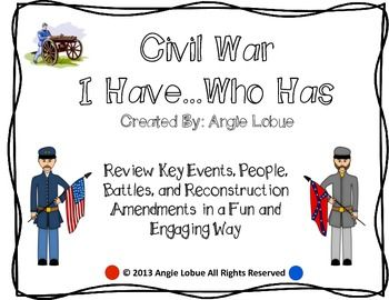 civil war and reconstruction thematic essay