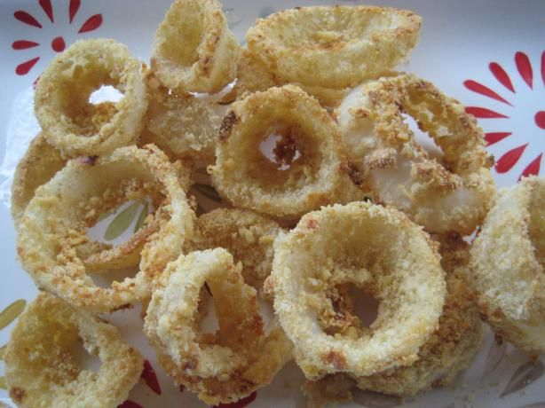 Oven Fried Onion Rings | Recipe