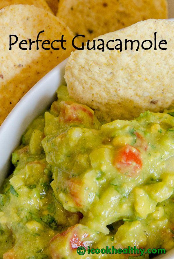 The Perfect Guacamole Recipe - So Yummy! | Recipes | Pinterest