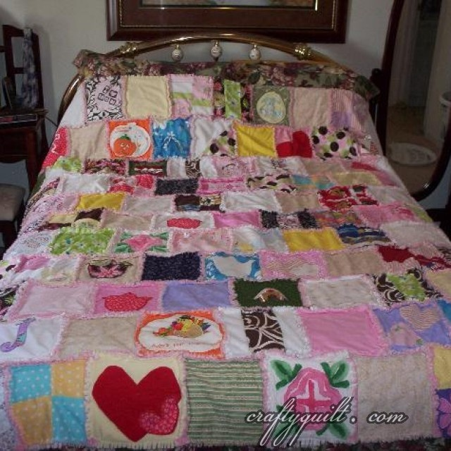 Baby Clothes Memory Quilt Projects for the Kids