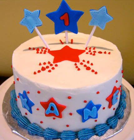 4th of july birthday cake recipes