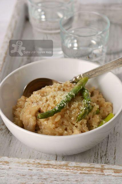 Chicken and Asparagus Risotto | Girls gotta eat | Pinterest