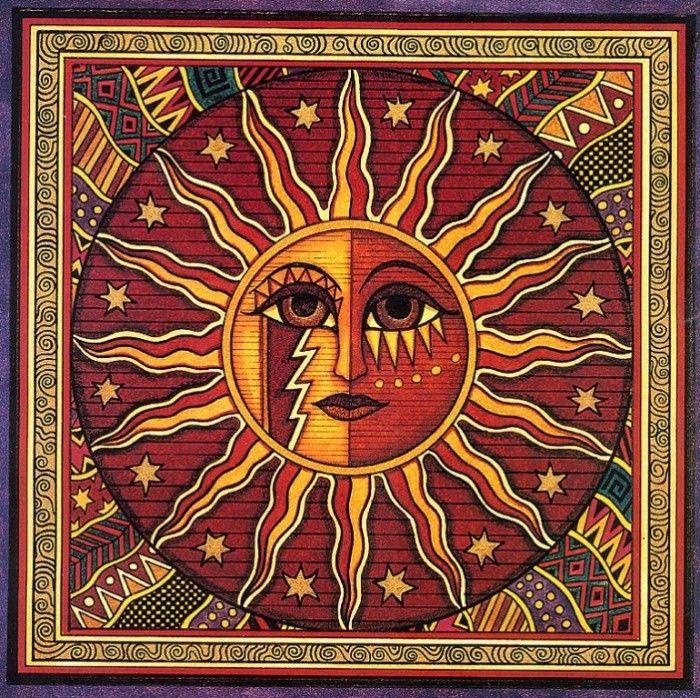 Dan Morris - Sun face