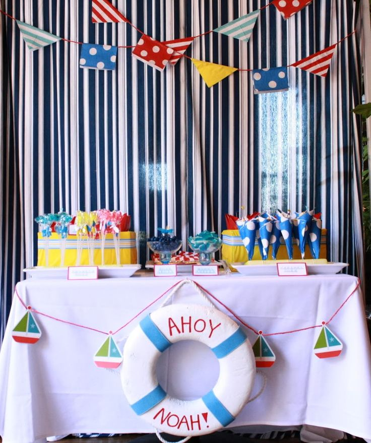 Nautical themed party ideas page 1 general baby topics huggies