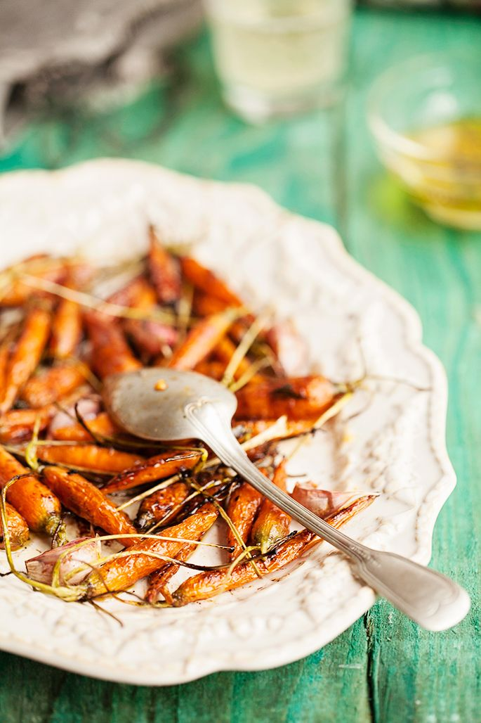 Roasted Baby Carrots | Food Photography | Pinterest