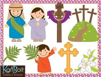 Religious Easter Sunday Clip Art - fedinvestonline