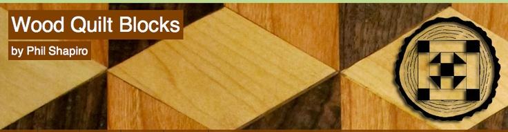 Wood Quilt Blocks, web design | Portfolio | Pinterest